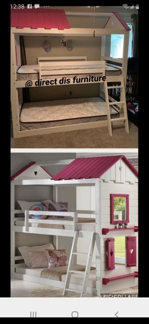 Bunk beds 40 down for Sale in Houston, TX