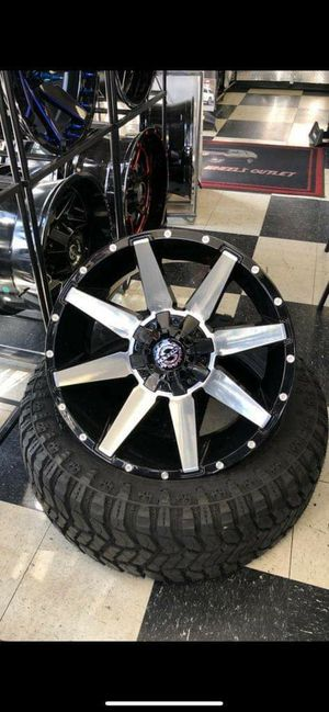 20x12Rines y llantas for Sale in Phoenix, AZ