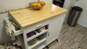 Kitchen Island Storage Cart for Sale in Queens, NY