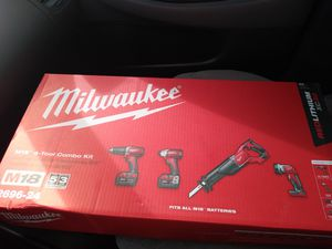 Milwaukee 4 tool combo kit for Sale in Stockton, CA