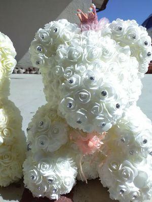 Rose teddy bear for Sale in Costa Mesa, CA
