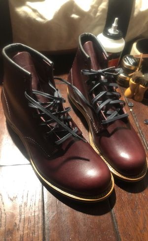 Red wing Beckham black cherry men boots for Sale in Lawrenceville, GA