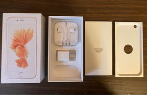 iPhone 6s box and all accessories for Sale in Sykesville, MD