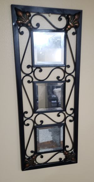 Decorative mirror wall art for Sale in Strongsville, OH