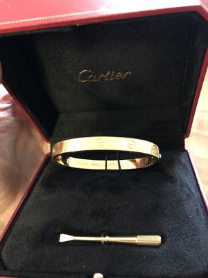 Cartier love bracelet faux for Sale in Whitehouse, TX