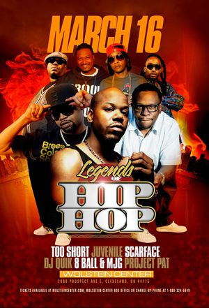 3 Seats 3 tickets for the legends of hip hop!!!!! for Sale in Atlanta, GA