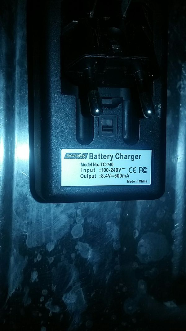 Digi power tc-740 charger with Canon battery