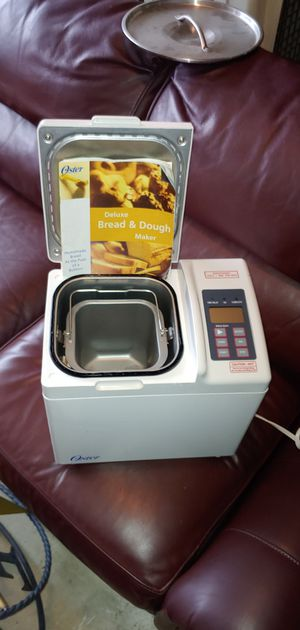Oster Deluxe bread and dough maker for Sale in League City, TX