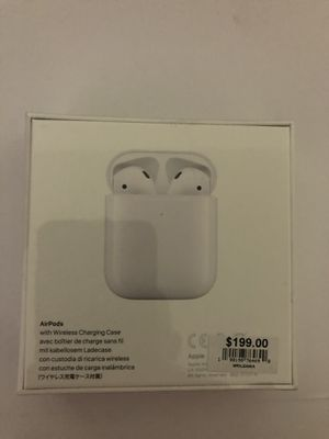 AirPods 2 brand new wireless charging case for Sale in Daly City, CA