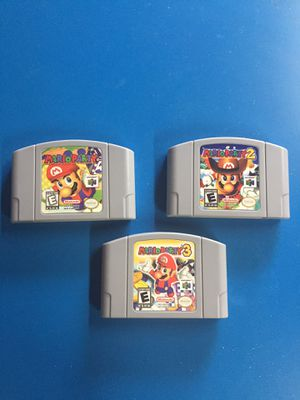 Mario Party 1 2 3 n64 Nintendo games for Sale in Laguna Beach, CA