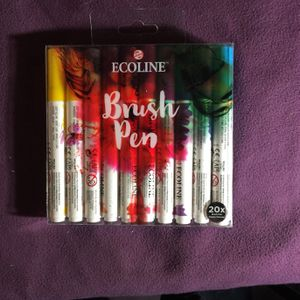 ECOLINE BRUSH PENS 20 for Sale in Sacramento, CA
