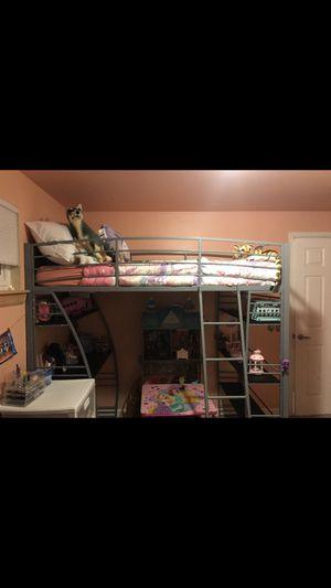 Loft Bed office Desk | New Mattress Included for Sale in Denver, CO
