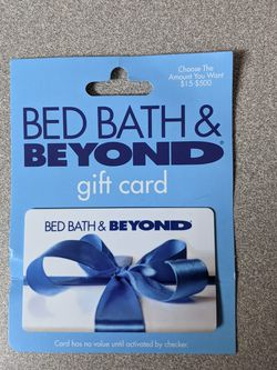 $25 Bed Bath & Beyond Gift Card for Sale in Everett,  WA