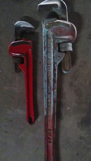 Price For Both Pipe wrench for Sale in Phoenix, AZ