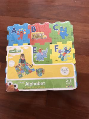 Alphabet and numbers puzzle mat brand new for Sale in Alexandria, VA