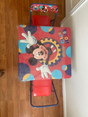 Kids activity table & Chairs for Sale in Irving, TX