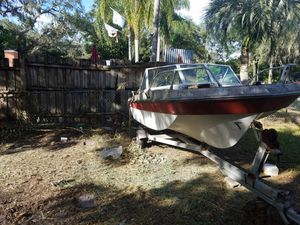 Boat and boat trailer for Sale in Tampa, FL