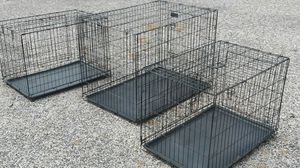Dog cages for all ages large XX large dog cage bundle (3) Free Delivery. for Sale in Philadelphia, PA