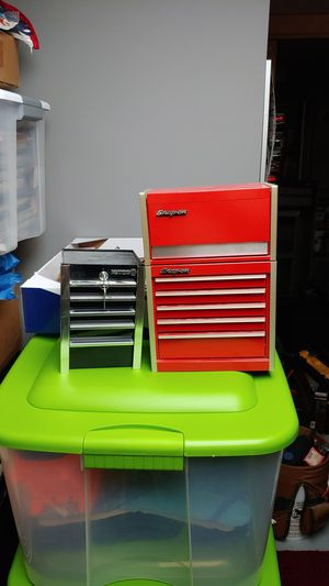 Mini tool boxes snap on and matco for Sale in Beltsville, MD