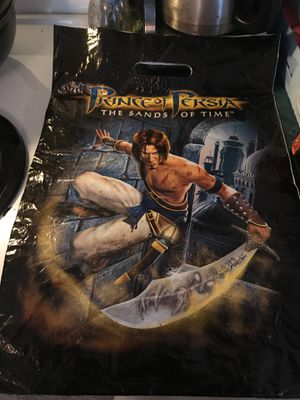 Prince of Persia: The Sands Of Time, collector's bag! for Sale in Clayton, NC