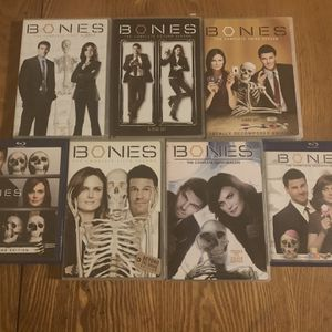 Bones Seasons 1-7 DVD/Blu Ray for Sale in Pylesville, MD
