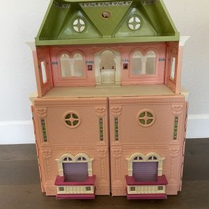 Fisher Price Grand Mansion Family Dollhouse and Accessories for Sale in Santa Ana, CA