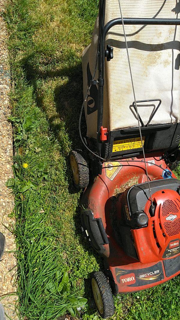 Toro mower runs great