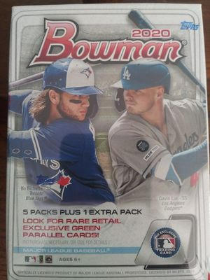 Sealed box 2020 Bowman for Sale in Moreno Valley, CA