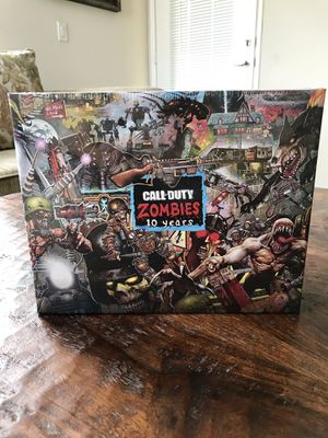 Brand New Call Of Duty Black Ops Zombies 10 Year Puzzle for Sale in Los Angeles, CA