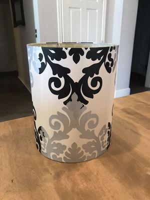 Black/White Lamp Shade for Sale in Pendleton, IN
