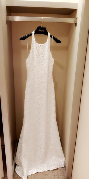 Vintage style wedding Dress (fitted, mermaid, halter) for Sale in Union Park, FL