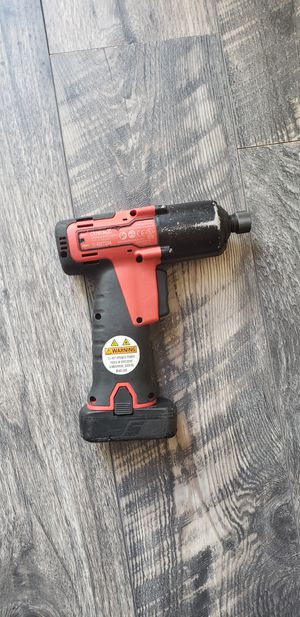 "Snap—On 14.4v 1/4 ""Hex Drive MicroLithium Quick Change Cordless Impact Driver (tool only) for Sale in Claremont, CA"