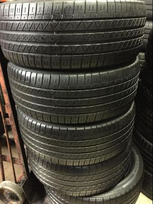 Tires 215-45r19 dunlop for Sale in Anaheim, CA