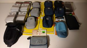 17 brand new and salesman sample miniature compact camera cases for Sale in Columbus, OH