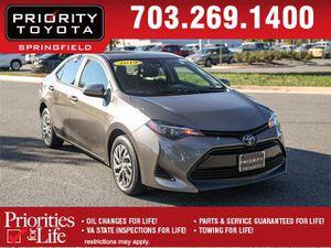 2019 Toyota Corolla for Sale in Springfield, VA