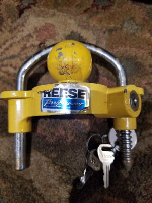 Reese towpower tow and anti theft lock for Sale in Ashburn, VA