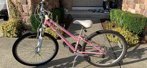 "Raleigh Eva 2.0 girls mountain bike 24"" pink for Sale in Snohomish, WA"