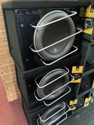 Jl audio 13w7ae pro wedge on sale today message us for the best deals in la for Sale in Long Beach, CA