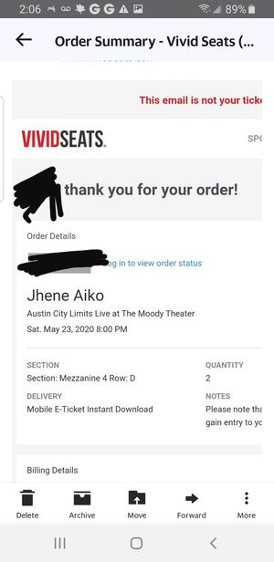 Jhene aiko tickets for Sale in San Antonio, TX