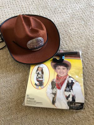 Kids cowboy costume and hat for Sale in Irvine, CA