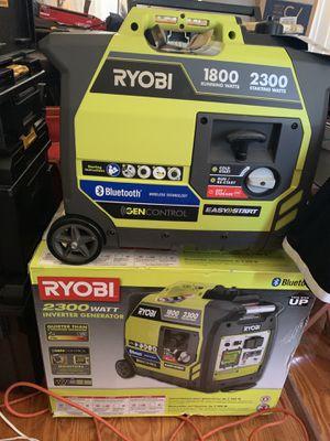 Ryobi 2300 watt inverter generator (Bluetooth) for Sale in Peabody, MA