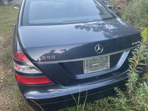 Mercedes S550 4 matic 2007 parts only for Sale in Charlotte, NC