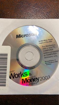 Microsoft Works & Money 2003 for Sale in Belton,  SC