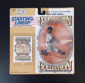 1994 Jackie Robinson Brooklyn Dodgers MLB Baseball Cooperstown Collection SLU Starting Lineup Action Figure - BRAND NEW! for Sale in Citrus Heights, CA
