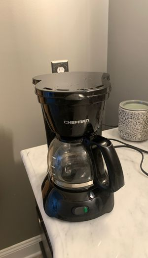 Chefman coffee maker for Sale in Sterling Heights, MI