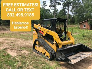 UNDERBRUSHING AND SKID STEER WORK for Sale in Tomball, TX