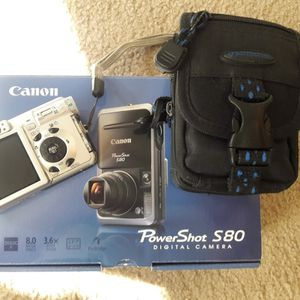 Canon Powershot S80 Camera for Sale in Frisco, TX