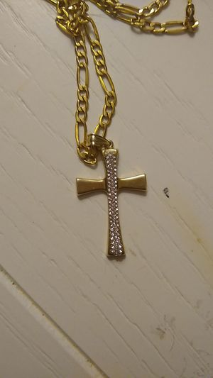 "Gold chain w Jesus piece 20"" for Sale in Hollywood, FL"
