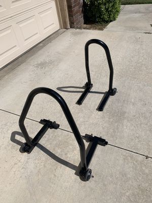 Motorcycle Stands (Front and Back) for Sale in Corona, CA