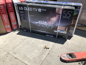 Lg oled 55 inch C9 4k smart tv with warranty oled55c9p for Sale in Los Angeles, CA